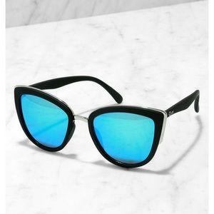Quay Blue My Girl Sunglasses